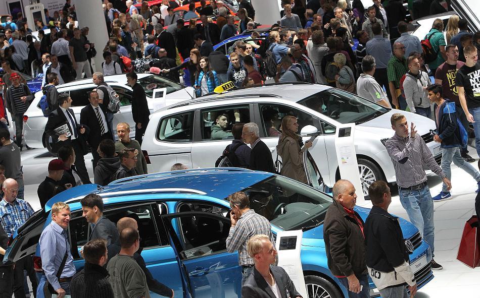Messe IAA 2017 Autoneuheiten Frankfurt