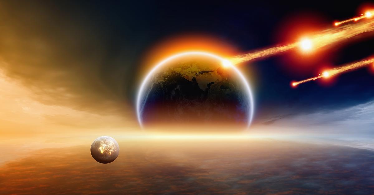 Asteroidenzug was passiert